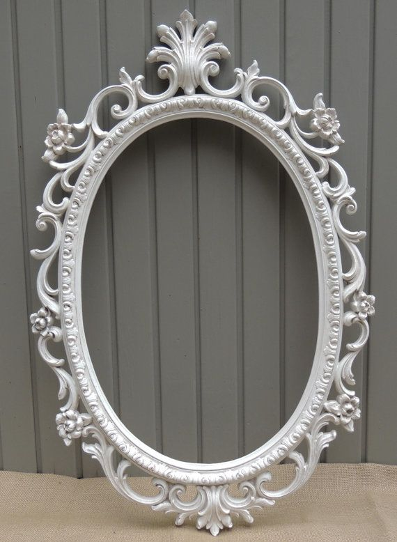 Oval Picture Frame 14 x 20 Oval Frame Oval by chanteclairInteriors