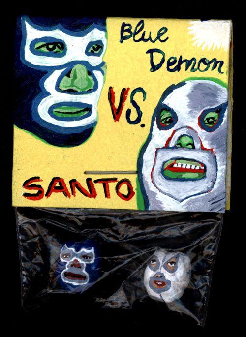 Blue Demon Versus Santo [pochette]