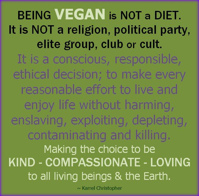 The positive effects of being in a vegan diet