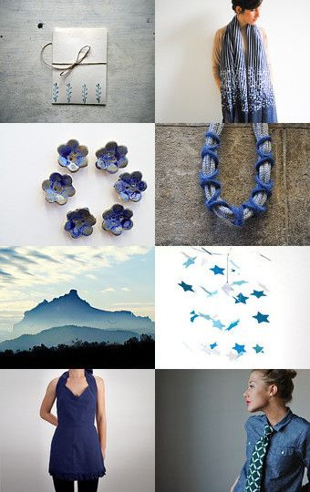 Blue Tuesday by Stella Melgrati on Etsy--Pinned with TreasuryPin.com