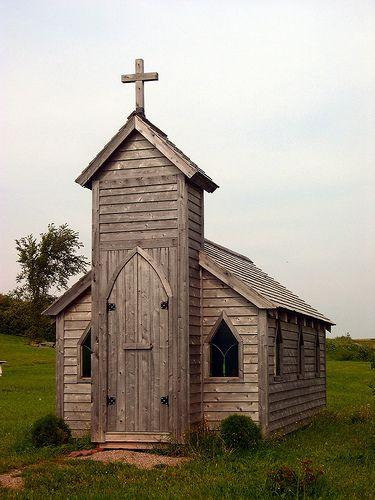 Tiny church, New Brunswick, Canada by Stephen Downes, via Flickr