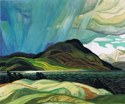 Lake Wabagishik c.1928 by Franklin Carmichael