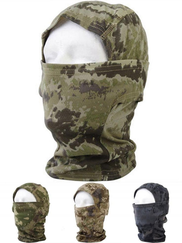 [Visit to Buy] Camouflage Army Tactical Training Hunting Airsoft Paintball Full Face Balaclava Mask Field Operation Masks #Advertisement