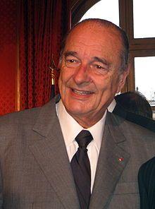 Jacque Chirac a été président de la République française de 1995 à 2007. Premier président de la République française à être condamné en justice, Jacques Chirac, âgé de 79 ans, a été un des grands fauves de la vie politique jusqu'à son départ en 2007 de l'Elysée après 12 ans à la tête du pays.  [K-J].