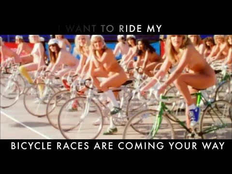 Queen - Bicycle Race (Official Lyric Video) - YouTube