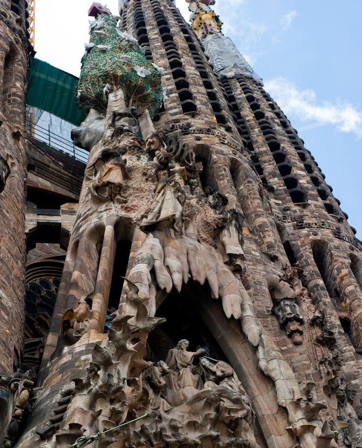 Details van de Sagrada Familia