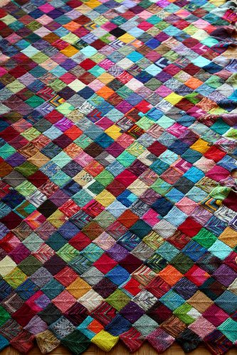 Insanity Blanket Knitting Pattern : 17 Best images about Knitting - Insanity Blanket on Pinterest The two, Left...