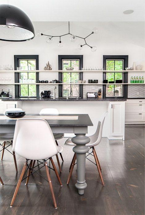 Kitchen shelves for herbs