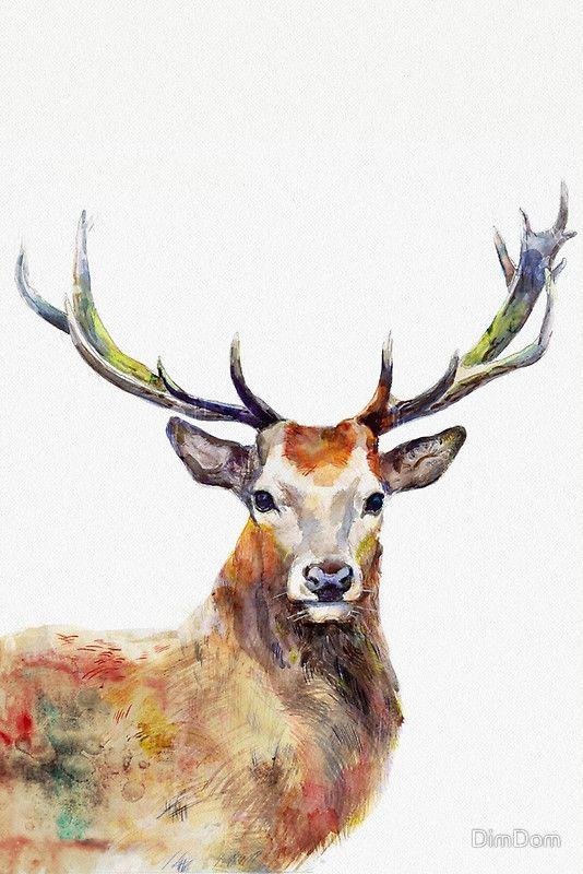 25 Trending Deer Paintings Ideas On Pinterest Deer