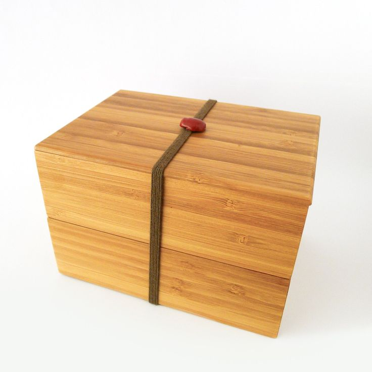 Bamboo Bento Box - Rectangle