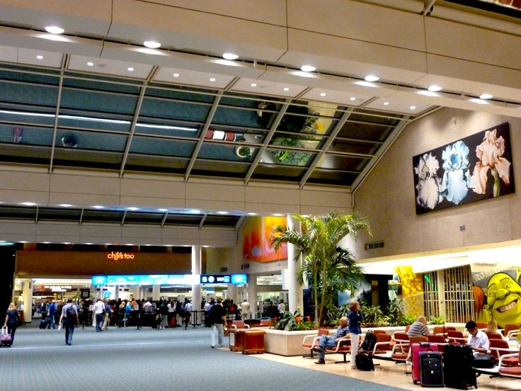 Sights and atmosphere of Orlando International Airport  www.traveladept.com