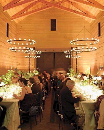 Halos of candles create major mood