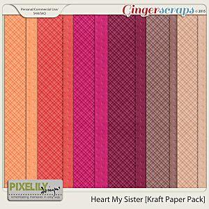 Heart My Sister [Kraft Paper Pack]