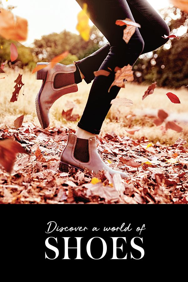 Discover a world of shoes with our new AW collection. From smart leather riding boots to laid-back Chelsea boots or fierce leopard print court shoes, you'll be sure to put your best foot forward this season. In store or at George.com