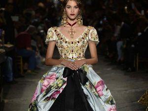 Шикарная коллекция Dolce&Gabbana haute couture осень-зима 2016-2017, вдохновленная музой Sophia Loren - Ярмарка Мастеров - ручная работа, handmade