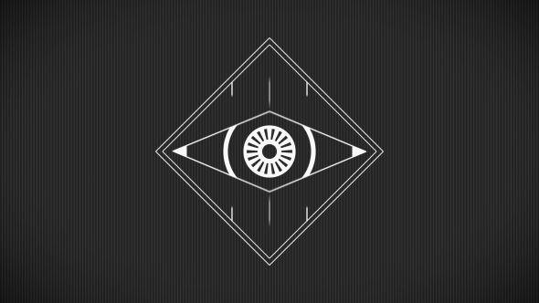 Minimal Abstract Eye Logo