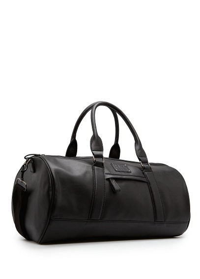HOLD ALL BAGS By MANGO $119.99  Faux leather holdall bag with two top handles, external zip pocket, detachable long strap, internal zip pocket and H.E. logo piece with metallic rivets  #bags #women #fashion #mango #meinstyleclothing