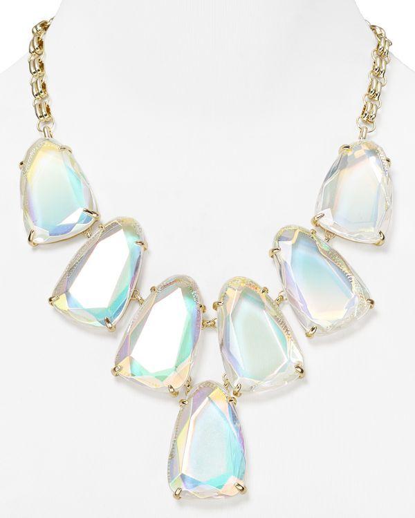 Kendra scott harlow iridescent necklace 18 kendra for Kendra scott fine jewelry