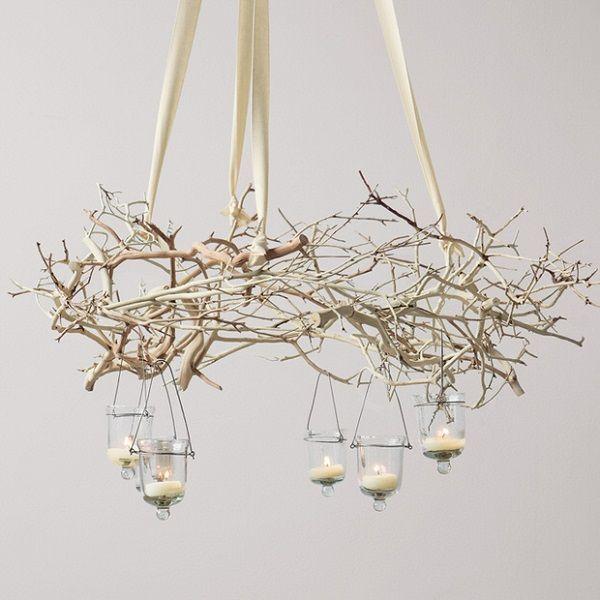 decorar con ramas secas 19 - Vivir Creativamente