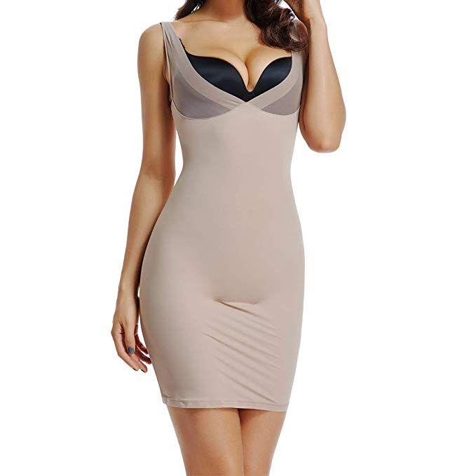 Joyshaper Full Slips For Women Under Dresses Long Cami Slip Dress Seamless Slimming Slip Shapewear Slip Dress Under Dress Cami Slip Dress
