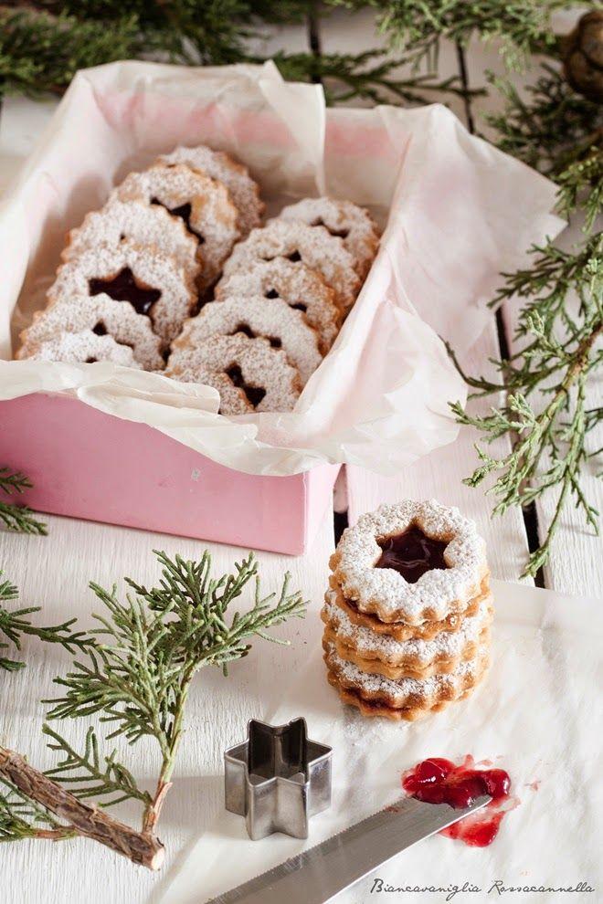 #aNataletiregalo 2. Linzer cookies