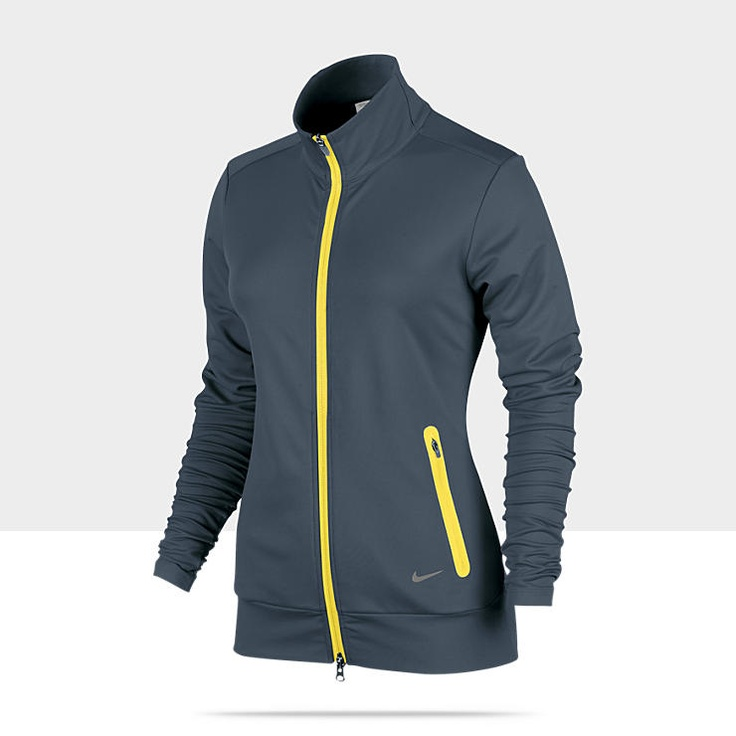 I really like the yellow on charcol. >> Nike Novelty Full-Zip Women's
