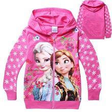 Nova Moda 2016 100% algodão Hoodie 3D Brasão Printer G26 de Bebés Meninas Autumn Girl Primavera Hoodies (China (continente))