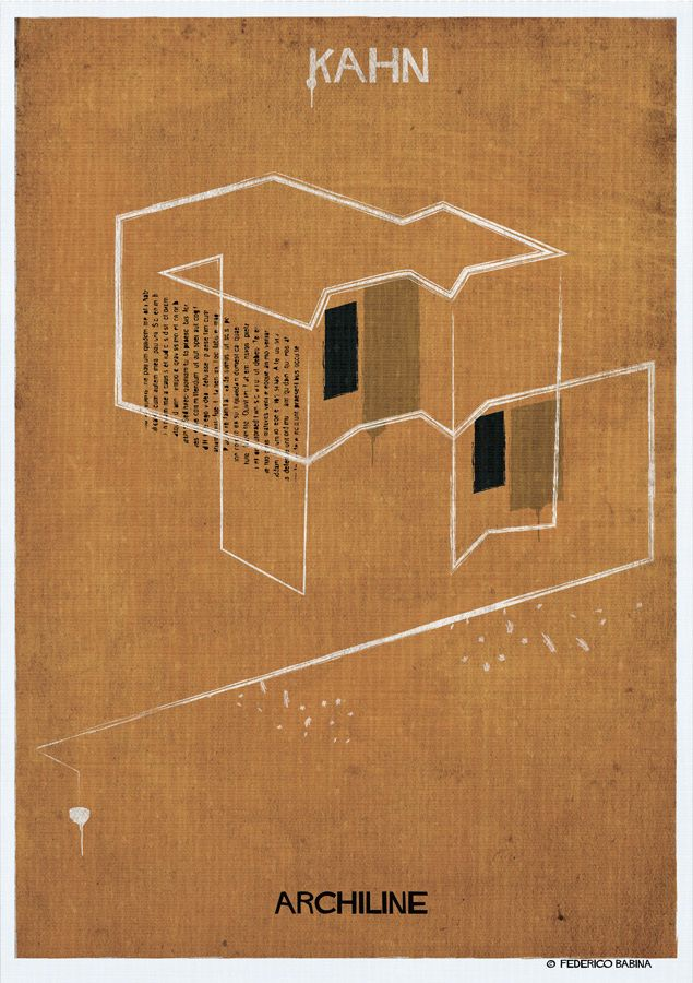archatlas:   ARCHILINE Federico Babina Check out...