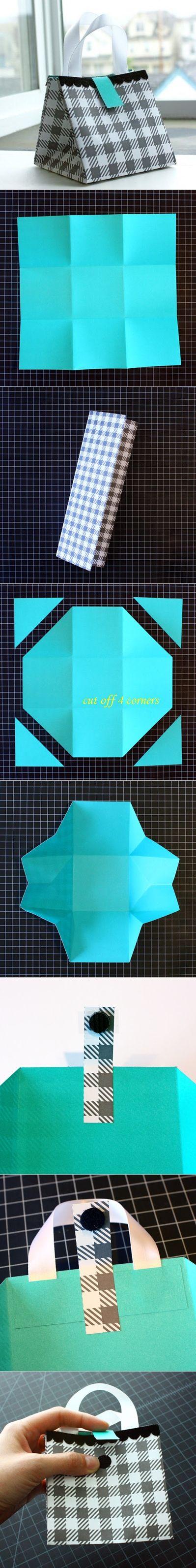 Diy Paper Bag tutorial