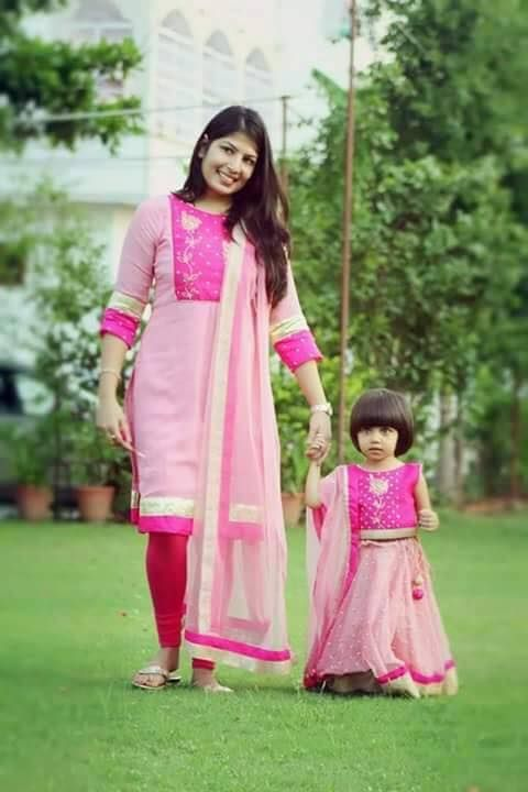 Ethnic Me And Mom Collection Krish 9010018476 Dresses Mom