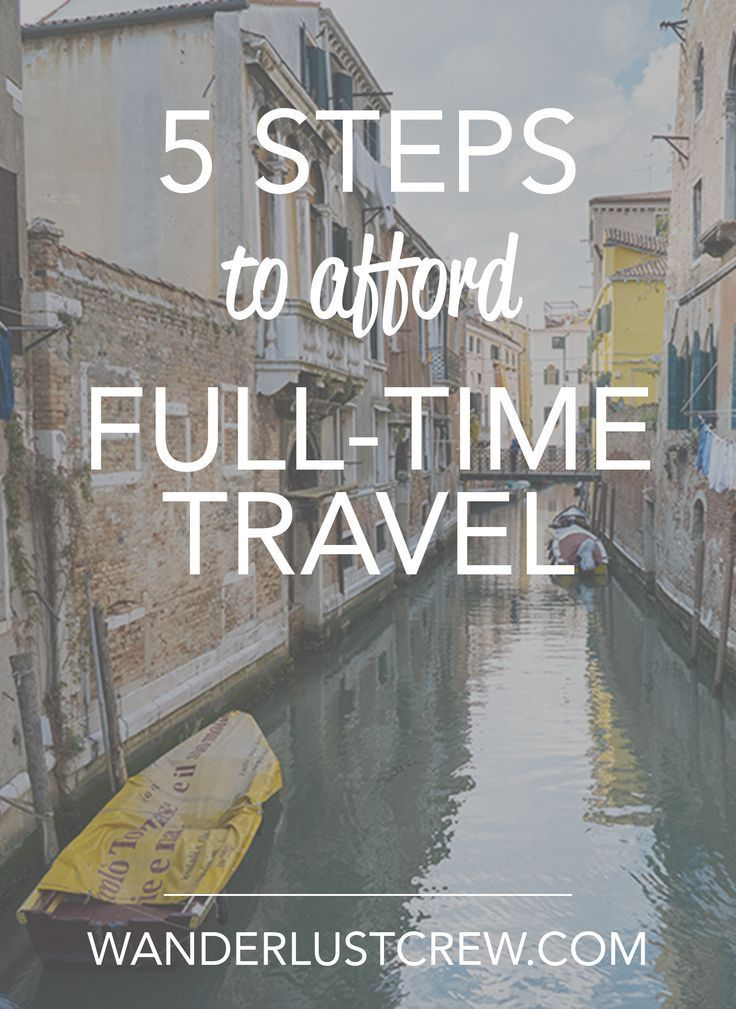 How to Afford Full-time Travel and how our family of 6 travels the world.