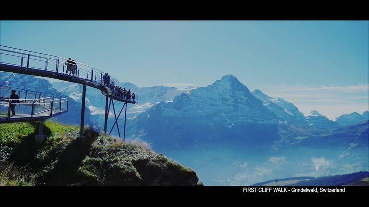 FIRST CLIFF WALK - Grindelwald, Switzerland 2016