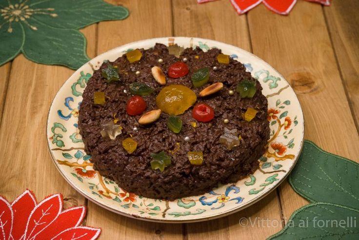 Riso nero alla messinese antico dolce siciliano