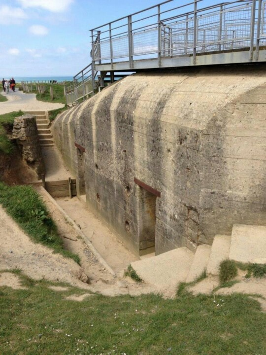 d day german bunkers