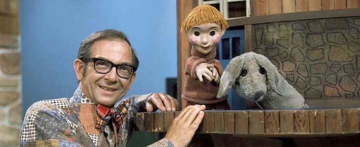 I loved the TV show Mr. Dress Up when I was a child.  Casey and Finnigan were only puppets but to me, they were real.  :-)