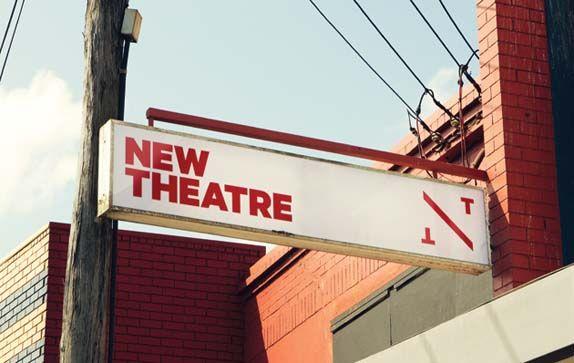 New Theatre logo.