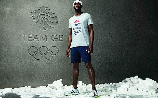Phillips Idowu - London 2012 Olympics: Athletes banned from selling Great Britain kit on eBay