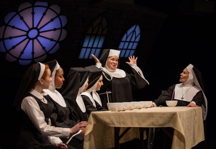 "Lillian Castillo stars as Mary Patrick in Marriott Theatre's ""Sister Act"" by Alan Menken and Glen Slater, directed by Don Stephenson. (photo credit: Liz Lauren)"