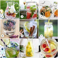 Het recept van de week: Fruitwater