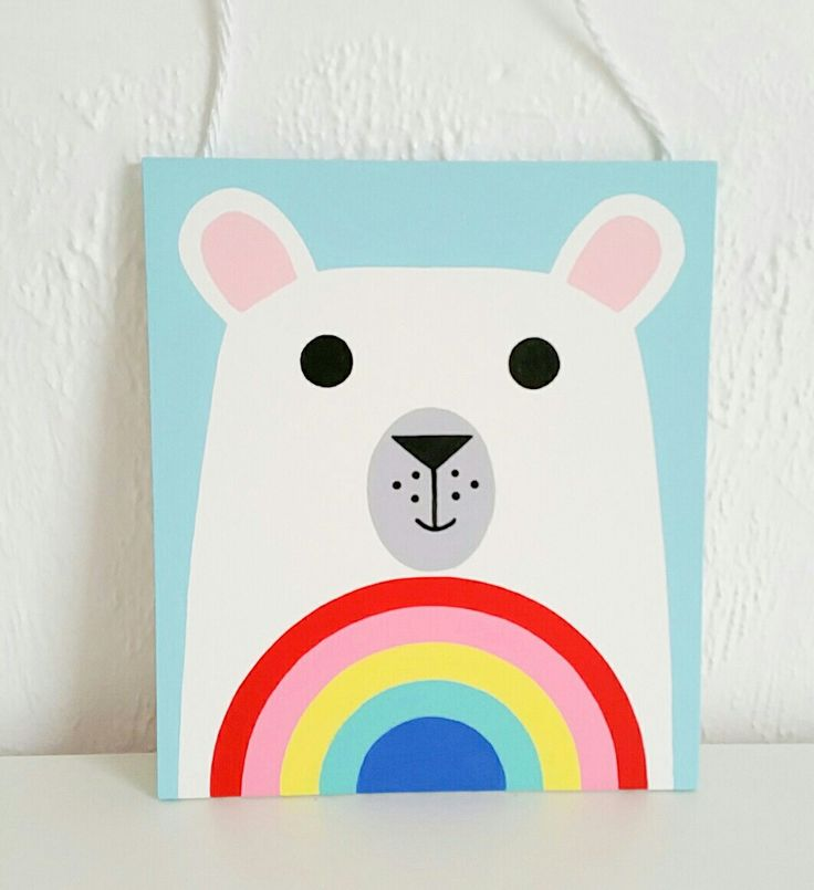 Polar bear Wallhanging
