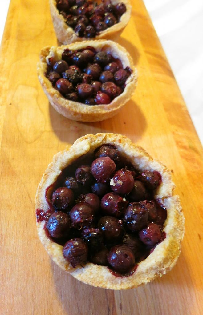 The Foraged Foodie: Wild Juneberry & Baked Brie Mini Tarts. Could also ...