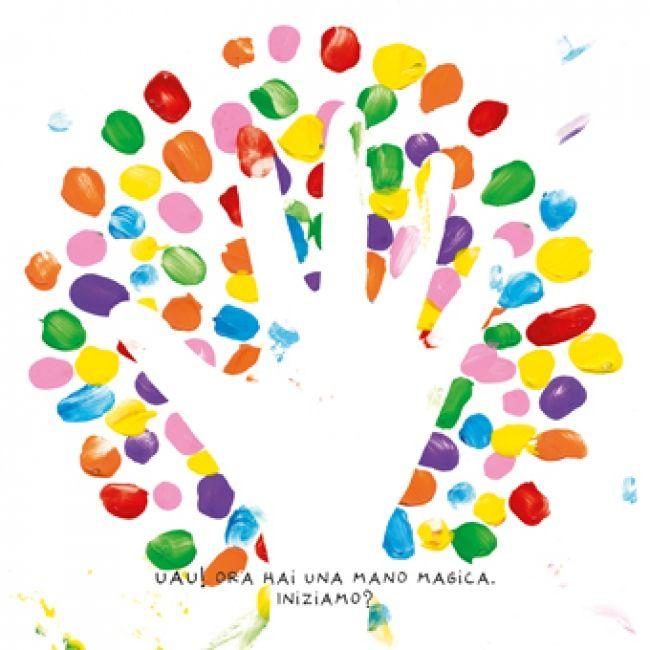 Il nuovo libro di Hervé Tullet, Colori, è un libro semplice, artistico, interattivo, dal linguaggio universale, da far provare ai bambini dai 4 anni in su