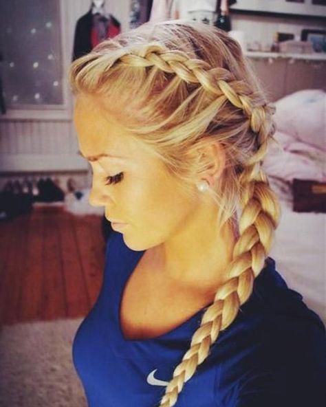 50 coiffures simples et rapides à faire après le sport   Glamour