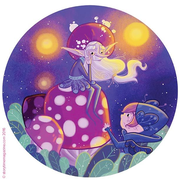 What happens when a little pixie loses his laugh? Find out in Storytime Issue 23! Art by Astrid de Souris (http://crevette-louisxvi.blogspot.co.uk) ~ STORYTIMEMAGAZINE.COM