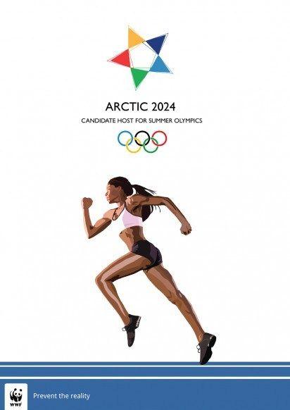 L'Arctique aux Jeux Olympiques 2024 avec la WWF.