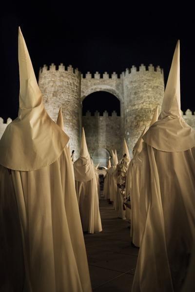 Ávila.Semana Santa. España