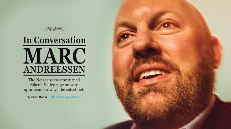 Marc Andreessen on Why Optimism Is Always the Safest Bet