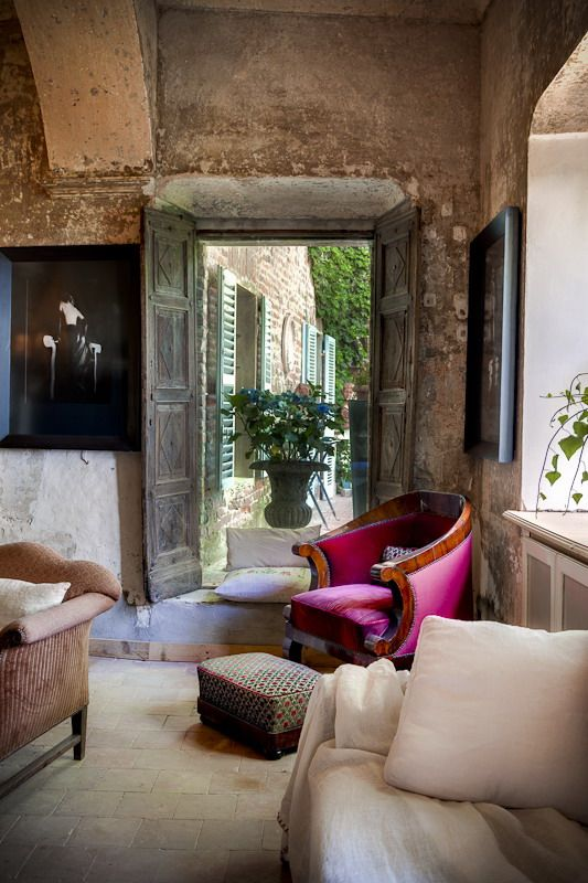 private home of an art collector in turin, italy photographed by carlo carossio