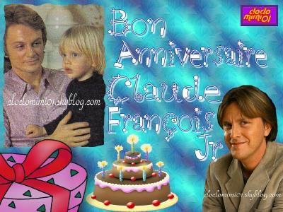 claude francois jr   Bon Anniversaire CLAUDE FRANCOIS JUNIOR!