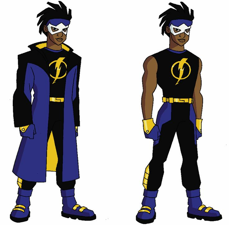 Yup remember this kid totally. Static shock!